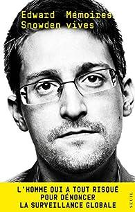 Mémoires vives  par Edward Snowden