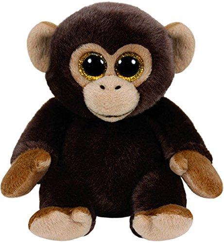 ty-beanie-babies-bananas-mono-15-cm-color-marron-united-labels-iberica-42111ty