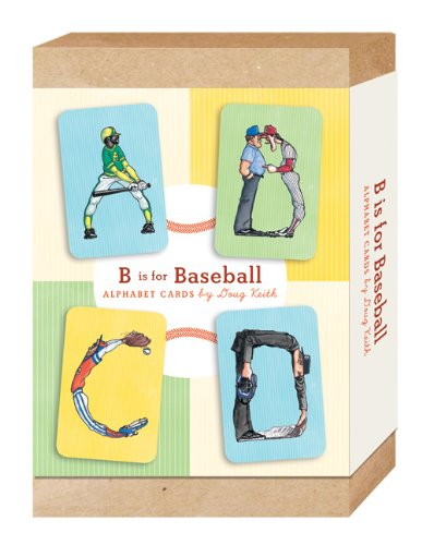 B is for Baseball: Alphabet Cards