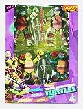 TMNT 4 Character Pack - Leonardo, Donatello, Michelangelo y Rafael...