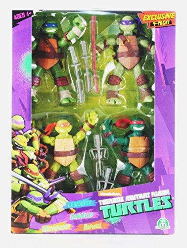 TMNT 4 Character Pack - Leonardo, Donatello, Michelangelo -