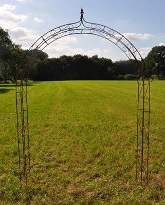 Rosenbogen 10mm Massiveisen! Breite: 200cm Roheisen von kuheiga auf Du und dein Garten