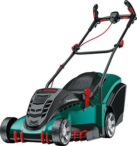 Bosch Cordless Lawnmower Rotak 430 LI (2 batteries, 50-litre grassbox, charger, cardboard box, 36 V, cutting width/height: 43 cm/20-70 mm)