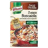 Knorr - Zuppa Boscaiola, Con Cereali, Zucca E Porcini - 4 pezzi da 500 ml [2 l]