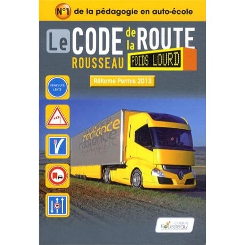 Code Rousseau poids lourd 2013