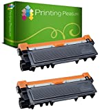 Printing Pleasure TN2320 Kit 2 Toner Compatibili per Brother DCP/HL/MFC serie, Nero