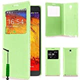 VCOMP Etui Housse Coque flip cover View compatible pour Samsung Galaxy Note...