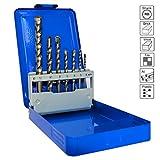 S&R Bohrerset / Mehrzweckbohrer/ Universalbohrer Set 7-tlg: 4x75, 5x85, 6x100,...