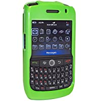 Amzer Snap On Case For Blackberry Curve 8900 - Polished Neon Green