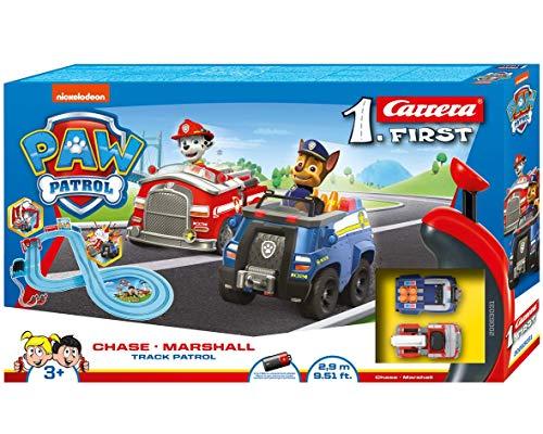 Carrera 20063031 - FIRST PAW Patrol Track Patrol Autorennbahn Set, ab 3 Jahren