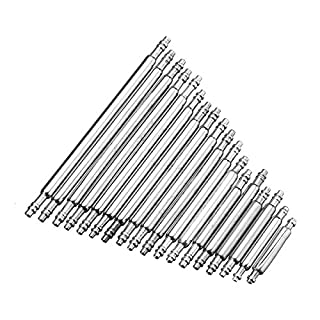 Alamor 270Pcs 8-25Mm Watch Band Spring Bar Armband Link Pins Mit Remover Removal Repair Tool