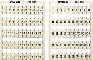 Système de marquage multiple WMB Contenu: 5 pc(s) WAGO 793-505-Bornier d'installation