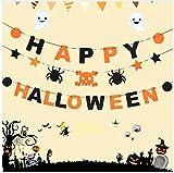 HAJKSDS Nagelneu Und Hohe Qualität Halloween Prop Girlande Kürbis Flagge Hängende Geist Decor Hand Griff Banner Party