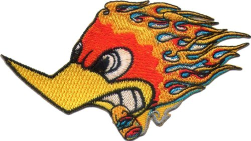 """'Con Logo/Iron on Patch Woody Woodpecker """""""