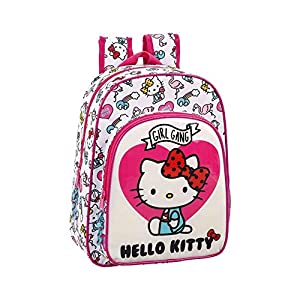 Safta Mochila Infantil Adapt.Carro Hello Kitty