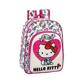 Hello Kitty Mochila pequeña niña Adaptable Carro