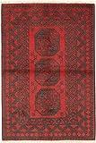 CarpetVista Afghan Teppich 96x143 Orientalischer Teppich
