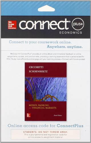 Connect 1-Semester Access Card for Money, Banking and Financial Markets
