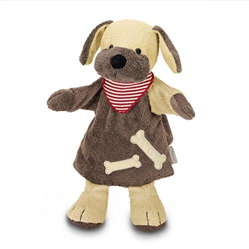 Sterntaler Handpuppe Hund,  28 x 25 x 10 cm, Braun