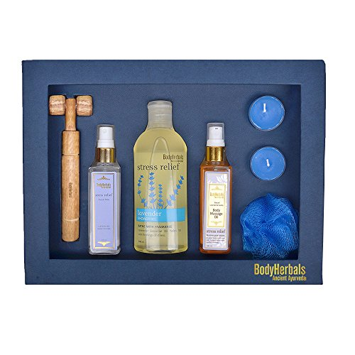bodyherbals lavender essentials gift set (gifting idea for all occasions birthday, anniversary, wedding, beauty, personal care, bath kits BodyHerbals Lavender Essentials Gift Set (Gifting Idea for all Occasions Birthday, Anniversary, Wedding, Beauty, Personal Care, Bath Kits 51 2Bd3oOEAwL