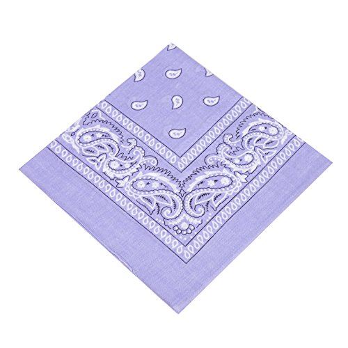 vard® TM Bandanas 100% Baumwolle (Light Blue) (Light Blue Bandana)