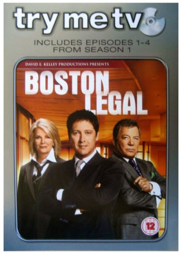 Click for larger image of Boston Legal - Season 1 (Episodes 1-4) [DVD]