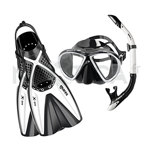 Mares X-One Marea - Set de buceo, color blanco,...