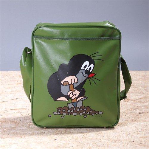 Preisvergleich Produktbild Der kleine Maulwurf Umhängetasche grün Sporttasche TV Trickfilm Kult Bag retro