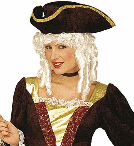 Widmann parrucca nobildonna in scatola parrucca donna varia party e carnevale 159