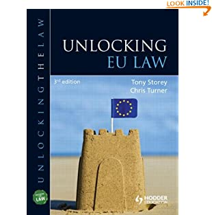 Unlocking EU Law (Paperback)
