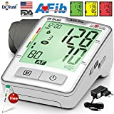 #2: Dr Trust (USA) Atrial Fibrillation STROKE PREVENTION Professional Series - Automatic digital Blood Pressure Testing Monitor BP Machine - ( includes Adapter, Carry Bag, Batteries, Thermometer )