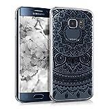 kwmobile Crystal Case Hülle für > Samsung Galaxy S6 Edge