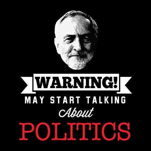 Jeremy Corbyn Warning May Start Talking About Politics Women's Vest Black