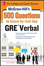 Mcgraw - Hill Education 500 Gre Verbal Questions to Know by Test Day