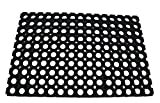 KMP Gummimatte Ringgummimatte Schmutzfangmatte Ringmatte 23mm 6 Größen (40 x 60 cm)