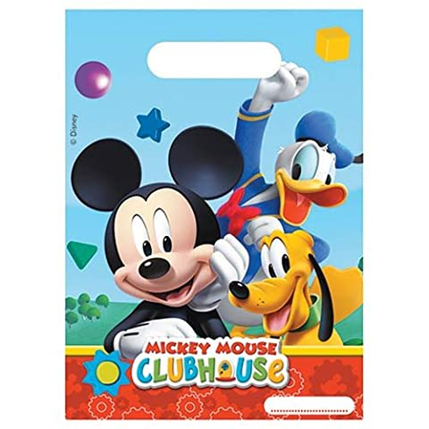 Procos - 380085 - Sachet Cadeau Mickey Disney - Taille