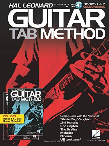 Hal Leonard Guitar Tab Method: Books 1 & 2 Combo Edition: Lehrmaterial, CD für Gitarre
