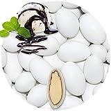 EinsSein® 500g Hochzeitsmandeln Gastgeschenke Stracciatella Schokomandeln griechisch Hochzeit Zuckermandeln Schokomandeln Bonboniere Bonbons Schokotafeln ohne organzasäckchen Dragees Taufmandeln kg