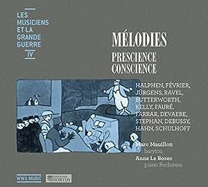 CD - Melodies Prescience, Conscience