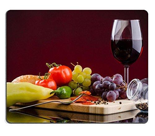 Jun XT Gaming Mousepad Bild-ID: 23046040rot Tomaten Oberfläche Top View Strukturierte Hintergrund - Oberfläche Top