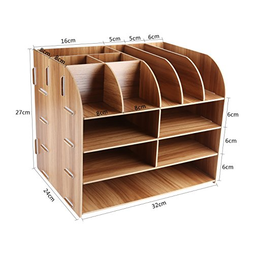 schreibtischorganizer holz lesfit tisch organizer b ro fernbedienung box organisation. Black Bedroom Furniture Sets. Home Design Ideas