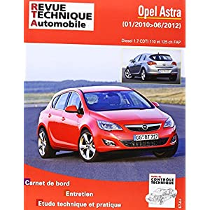 Revue Technique b784 Opel Astra (j) IV ph.1 2010-01->