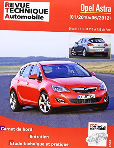 Revue Technique b784 Opel Astra (j) IV ph.1 2010-01->