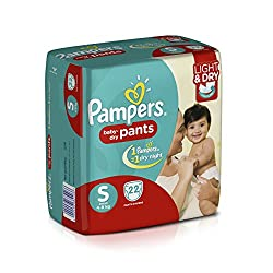 Pamper Small Size Diapers Pants (22 Count)