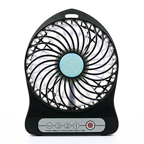 intetech 3velocidad ajustable usb mini ventilador de escritorio funciona con pilas ventilador...