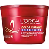 #7: L'Oreal Paris Hair Expert Color Vibrancy Intensive Ultra Recovery Mask, 8.5 fl. oz. (Packaging May Vary)