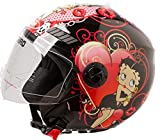 Shiro Casque SH62 BETTY BOOM Noir (XS)