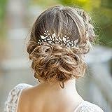 Aukmla épingles à cheveux pour femme on fête de mariage ou décontracté (lot de 2)