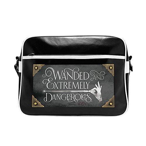 Gravis Tasche (Phantastische Tierwesen Tasche Extremely Dangerous Fantastic Beasts Messenger Bag schwarz)