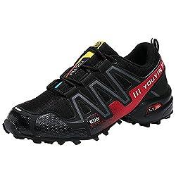 Kletterschuhe Herren, Holeider Sneaker Sportlich Laufschuhe Turnschuhe Freizeitschuhe Outdoor Leichte Bequeme Wanderschuhe für Männer Sport Freizeit Schuhe
